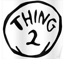 Thing one, thing two. Funny for couples Poster