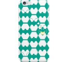 Honey Bee back to Nature with Love iPhone Case/Skin