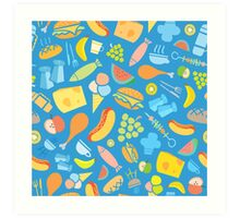 Food glorious Food! Art Print