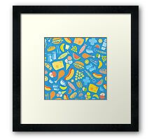 Food glorious Food! Framed Print