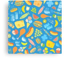 Food glorious Food! Canvas Print