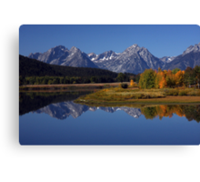 Snake River Ox Bow Canvas Print