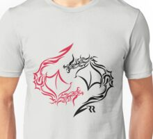 Dragon Yin Yang Unisex T-Shirt