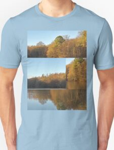 Autumn Reflections Mash Up  T-Shirt