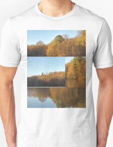 Autumn Reflections Mash Up  Unisex T-Shirt