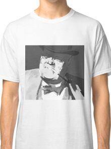 Mafia boss with tobacco pipe Classic T-Shirt
