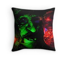 Space  Crone Throw Pillow