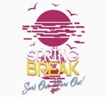 Spring Break, Sun's Out Guns Out Kids Tee