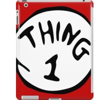 Thing 1 and thing 2 Couple iPad Case/Skin