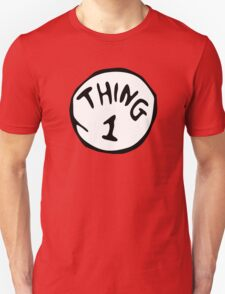 Thing 1 and thing 2 Couple T-Shirt