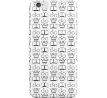The Golden Trio Pattern iPhone Case/Skin