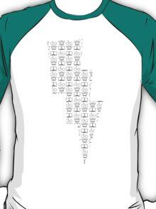 The Golden Trio Pattern T-Shirt