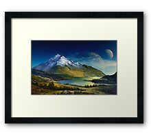 Highland Home Framed Print