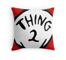 Thing one, thing two. Funny for couples Throw Pillow