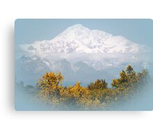 Mt. Denali in Alaska Canvas Print