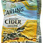 Carling Cider - Crushed Tin by Jovan Djordjevic