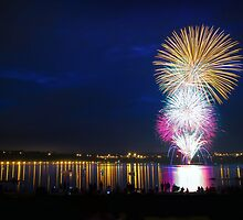 Canada Day at Bayfront Park, Hamilton, Ontario by Daniel Johnston
