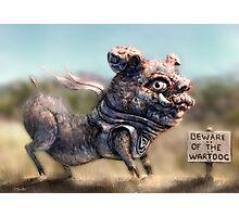 Wartdog Photographic Print