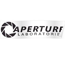 Aperture Laboratories (3) Poster