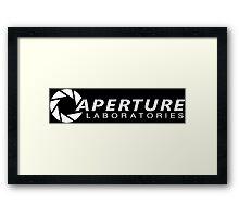 Aperture Laboratories (2) Framed Print
