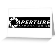 Aperture Laboratories (2) Greeting Card