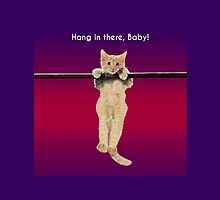 Hang In There Baby Kitten by CafePretzel