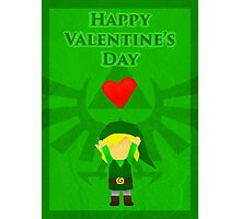 Legend of Zelda Valentines Day Card Photographic Print