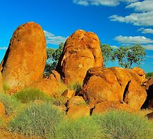The Pebbles at Tennant Creek by peasticks