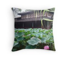 Sea Of Lilies Throw Pillow