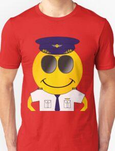 Smiley Pilot T-Shirt