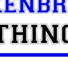 It's an ANKENBRAND thing, you wouldn't understand !! Sticker