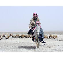 BEDOUIN SHEPHERDS - SYRIA Photographic Print