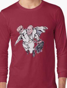 Pope Francis Superhero Long Sleeve T-Shirt