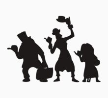 Haunted Mansion Hitchhiking Ghosts T-shirt & iPad Case Kids Clothes