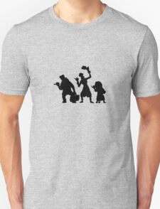 Haunted Mansion Hitchhiking Ghosts T-shirt & iPad Case T-Shirt