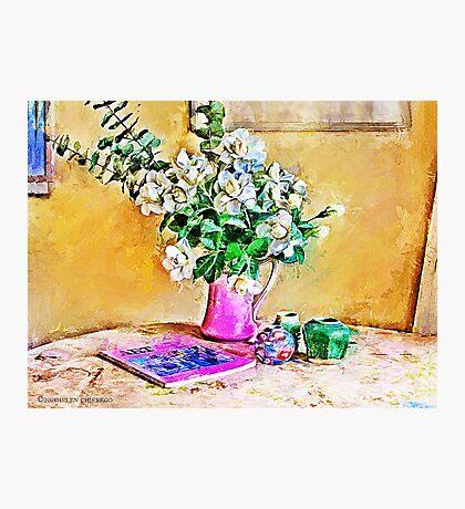 Gardenias Photographic Print