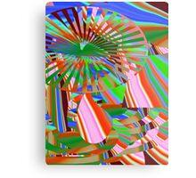 vibrant 2 Metal Print