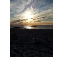 Baltic Sea Sunset Photographic Print