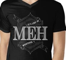 Meh! Mens V-Neck T-Shirt