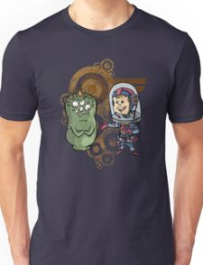 SpaceKid and Nestor Blobington of Planet Blobopolis Unisex T-Shirt