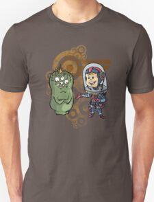 SpaceKid and Nestor Blobington of Planet Blobopolis T-Shirt