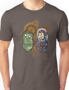 SpaceKid and Nestor Blobington of Planet Blobopolis Unisex T-Shirt