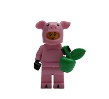 LEGO Pig Man with an Apple by jenni460