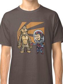 SpaceKid and a Joe...the Brown Furred Snaggletooth Classic T-Shirt