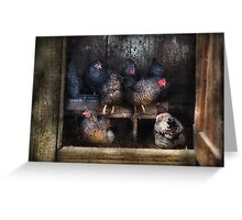 Animal - Chicken - The Hen House Greeting Card