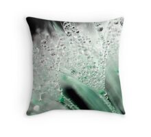 Creme de menthe  Throw Pillow