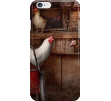 Animal - Chicken - The duck is a spy  iPhone Case/Skin