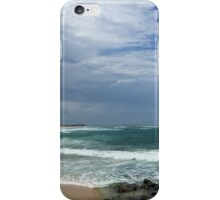 Nobby's Beach and Lighthouse, Newcastle, NSW Australia iPhone Case/Skin