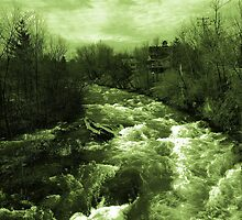 Rushing Waters by marchello
