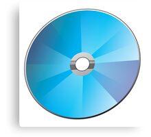 A blank CD or DVD Canvas Print